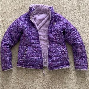 Girls The North Face Reversible Coat